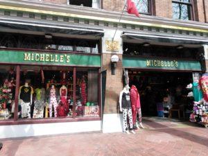 お土産屋 MICHELLE'S のお店の外観