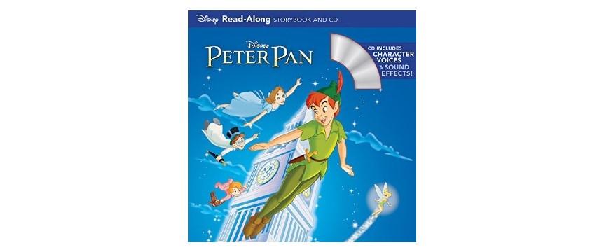 CD付きの絵本「PETERPAN」(ピーターパン)の絵本の表紙
