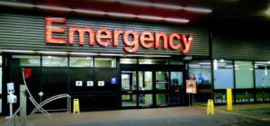 バンクーバー総合病院の入り口