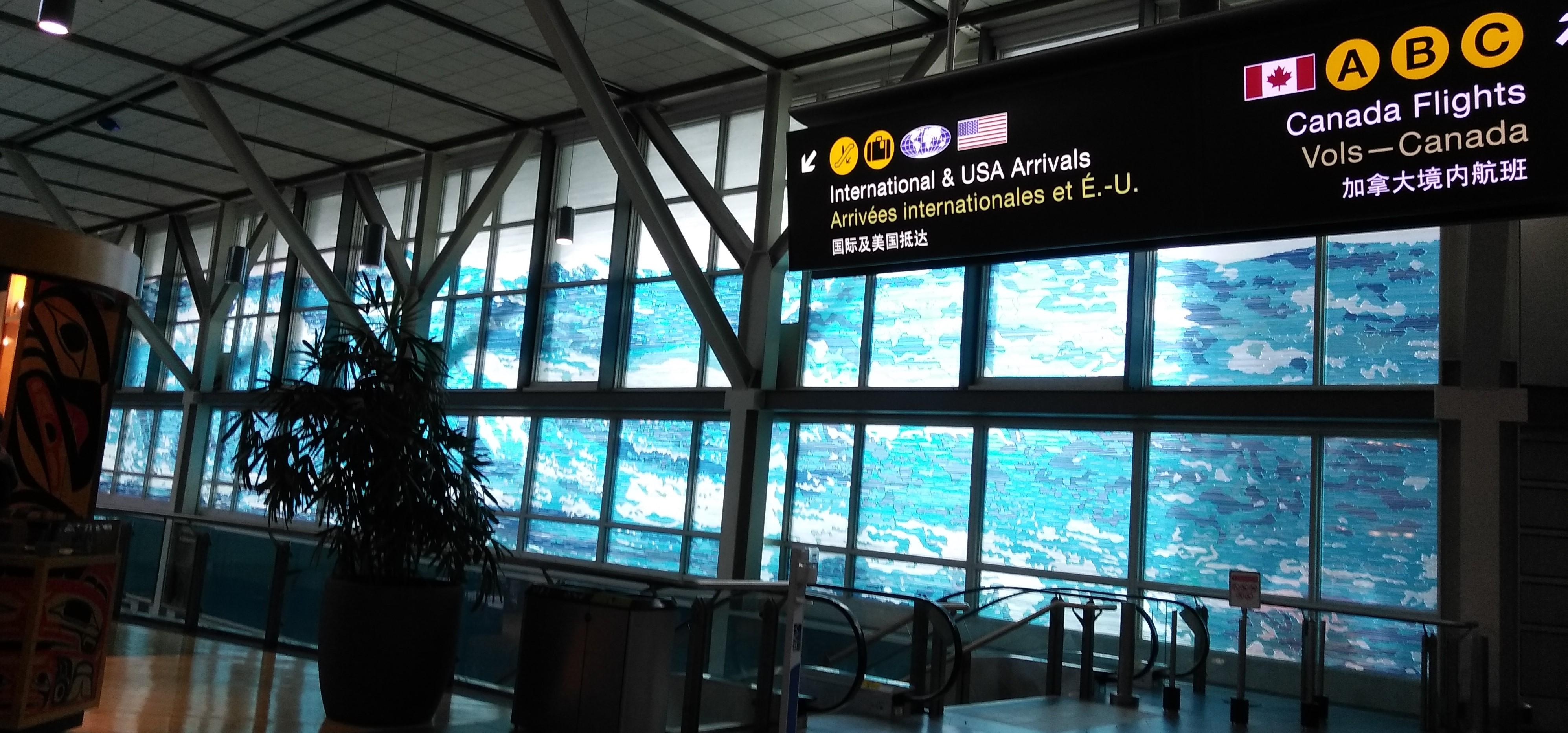 バンクーバー空港の写真