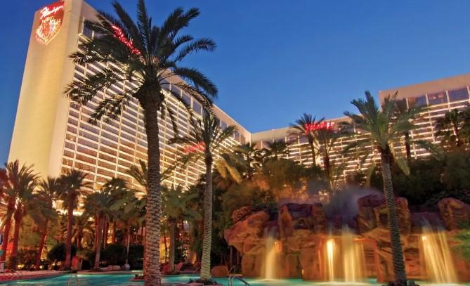 ラスベガスのフラミンゴホテルの写真
